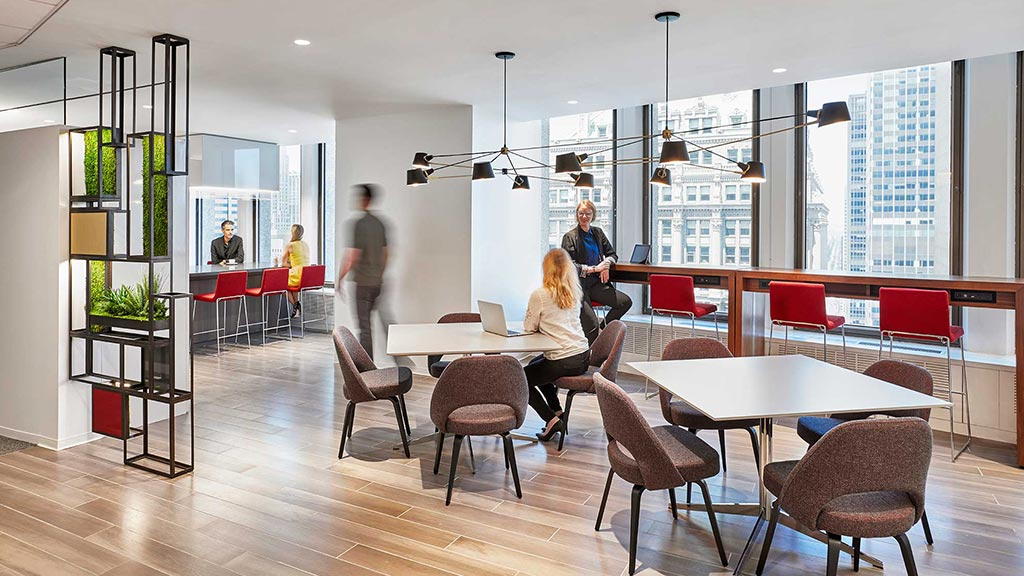 Paul hastings projects gensler for Design strategy firms nyc
