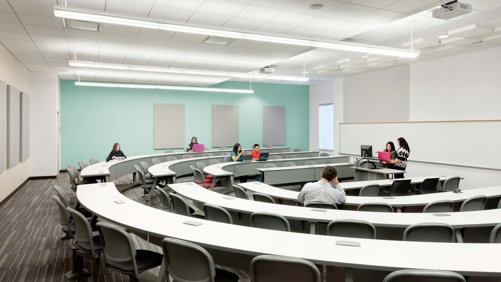 University Of Houston Classroom Business Building