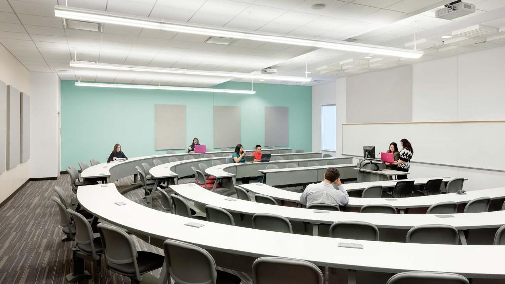 College Classroom Design Standards ~ University of houston classroom business building