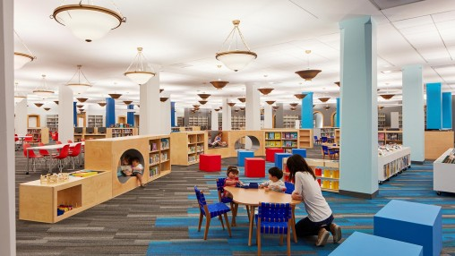 Harold Washington Children S Library Projects Gensler