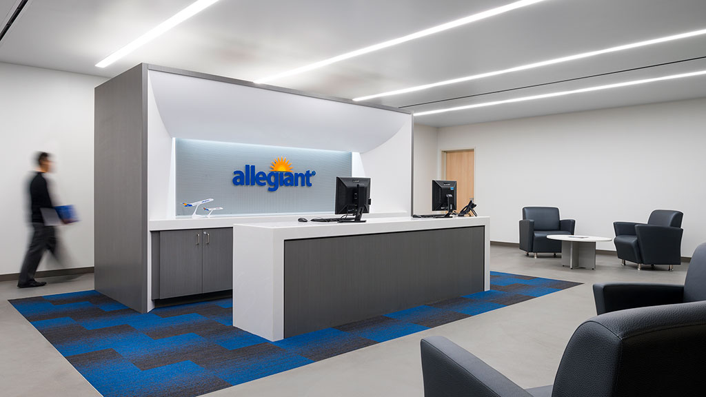 Allegiant travel company headquarters projects gensler for Agency for interior design company