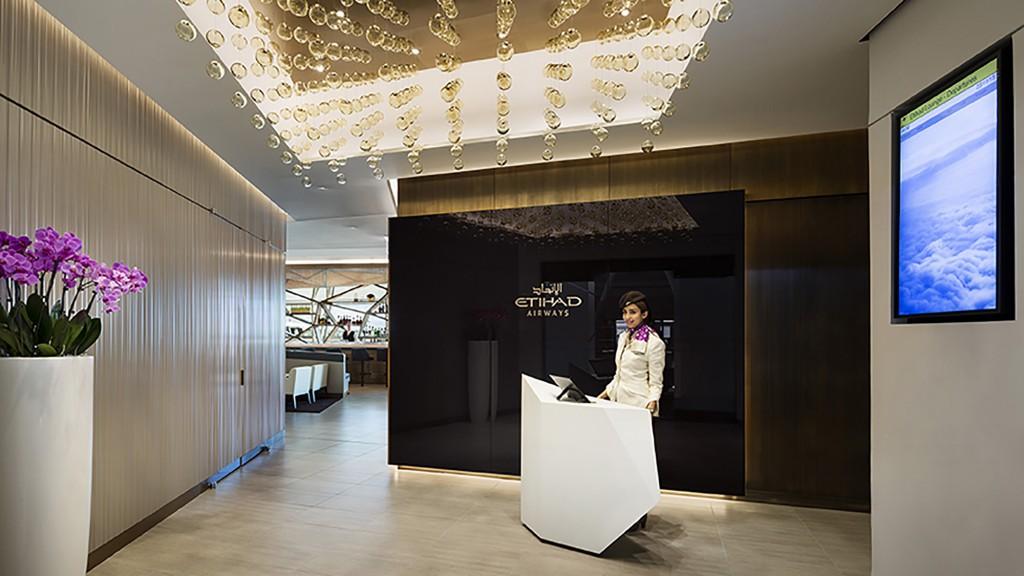 Etihad flagship lounge jfk international airport projects gensler - Etihad airways office in abu dhabi ...
