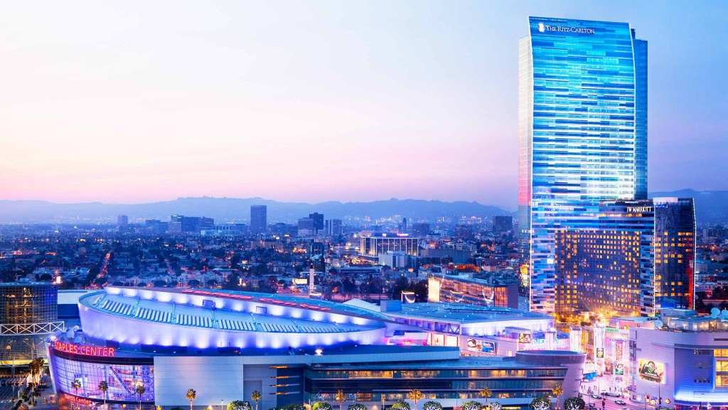 The Ritz Carlton Hotel Amp Residences And Jw Marriott At L A