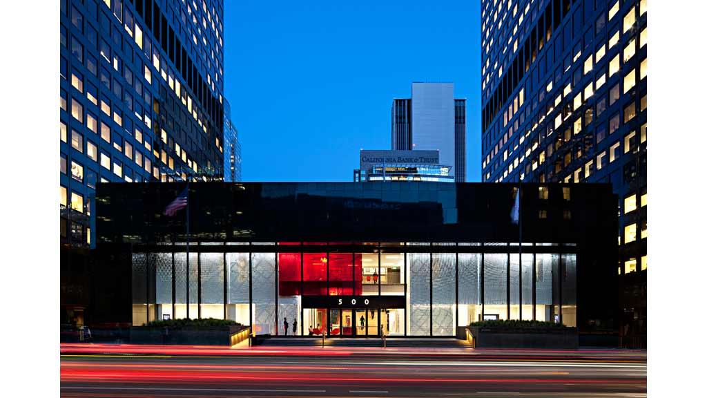Gensler Los Angeles on Interior Design Firms California