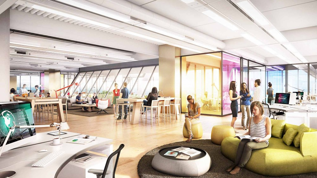 Gensler to Design Interiors of the New Comcast Innovation and