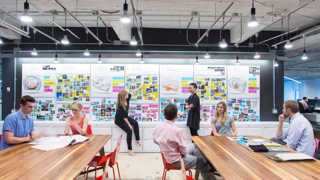 Gensler awarded aia new york state firm of the year for Design firms nyc