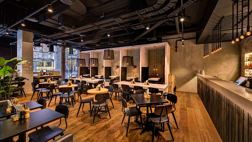 Restaurant Design Case Study : Bowery lane projects gensler