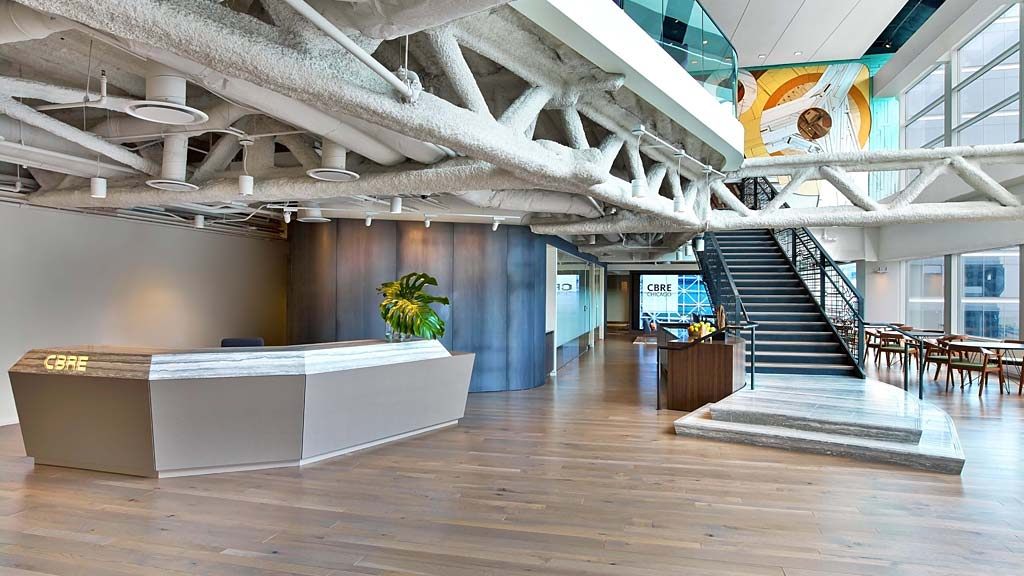 Cbre Chicago Projects Gensler