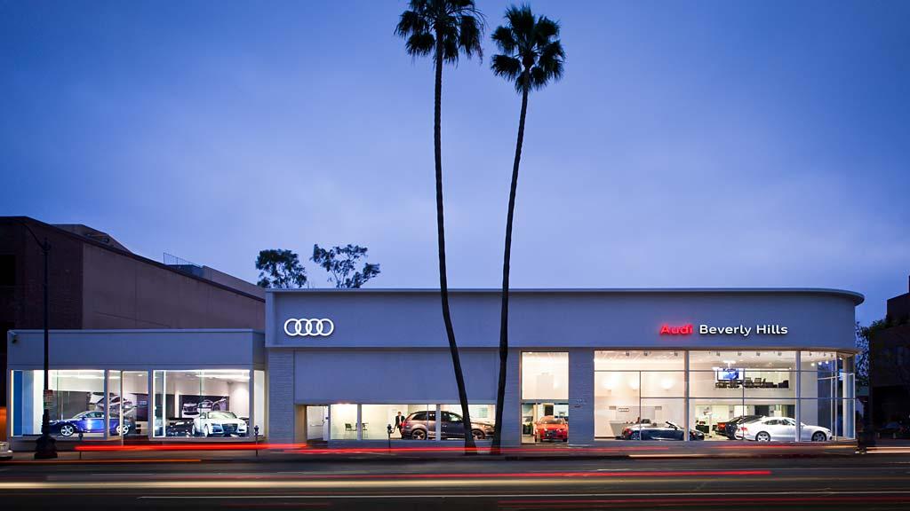 Fletcher Jones Audi >> Fletcher Jones Audi of Beverly Hills | Projects | Gensler