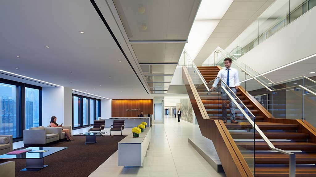 Latham watkins llp chicago projects gensler for Redesign office space