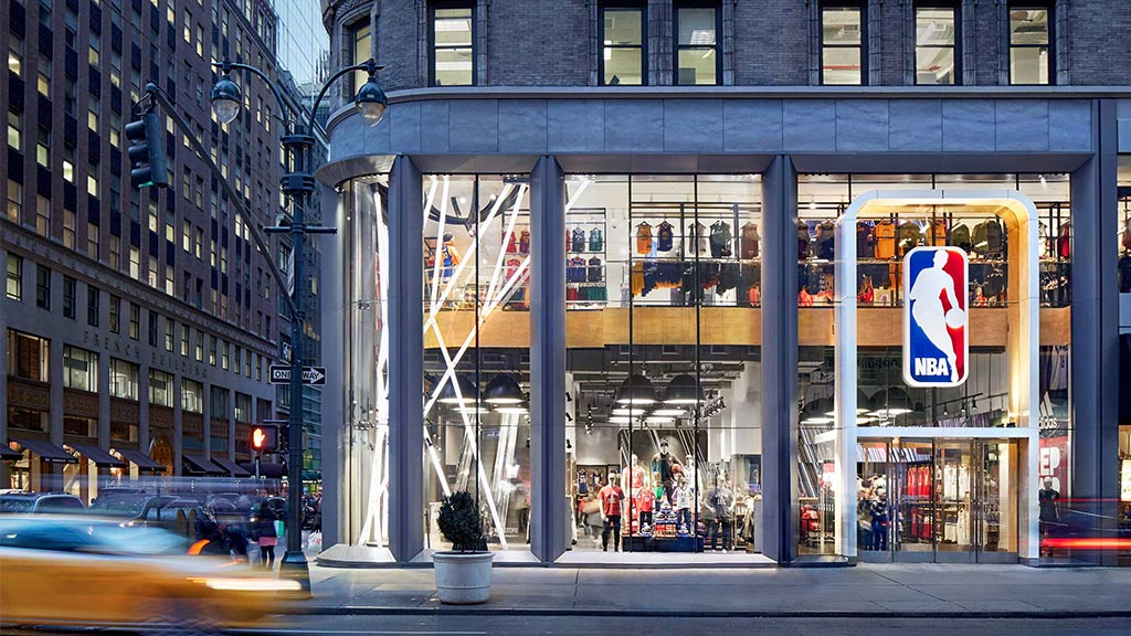 Nba store projects gensler for Home good stores nyc