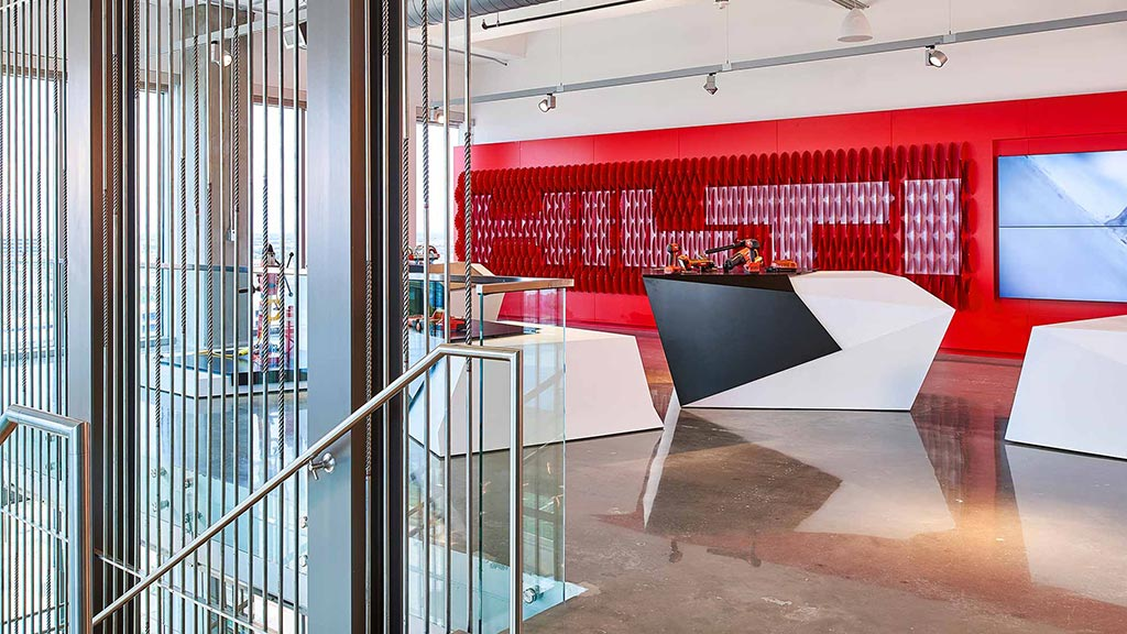 hilti north america corporate headquarters  brand design