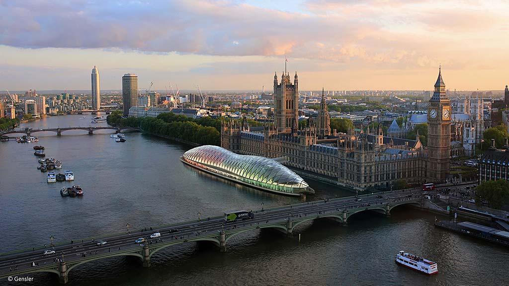 Gensler Unveils Radical Concept For Temporary UK Parliament | Press  Releases | News | Gensler