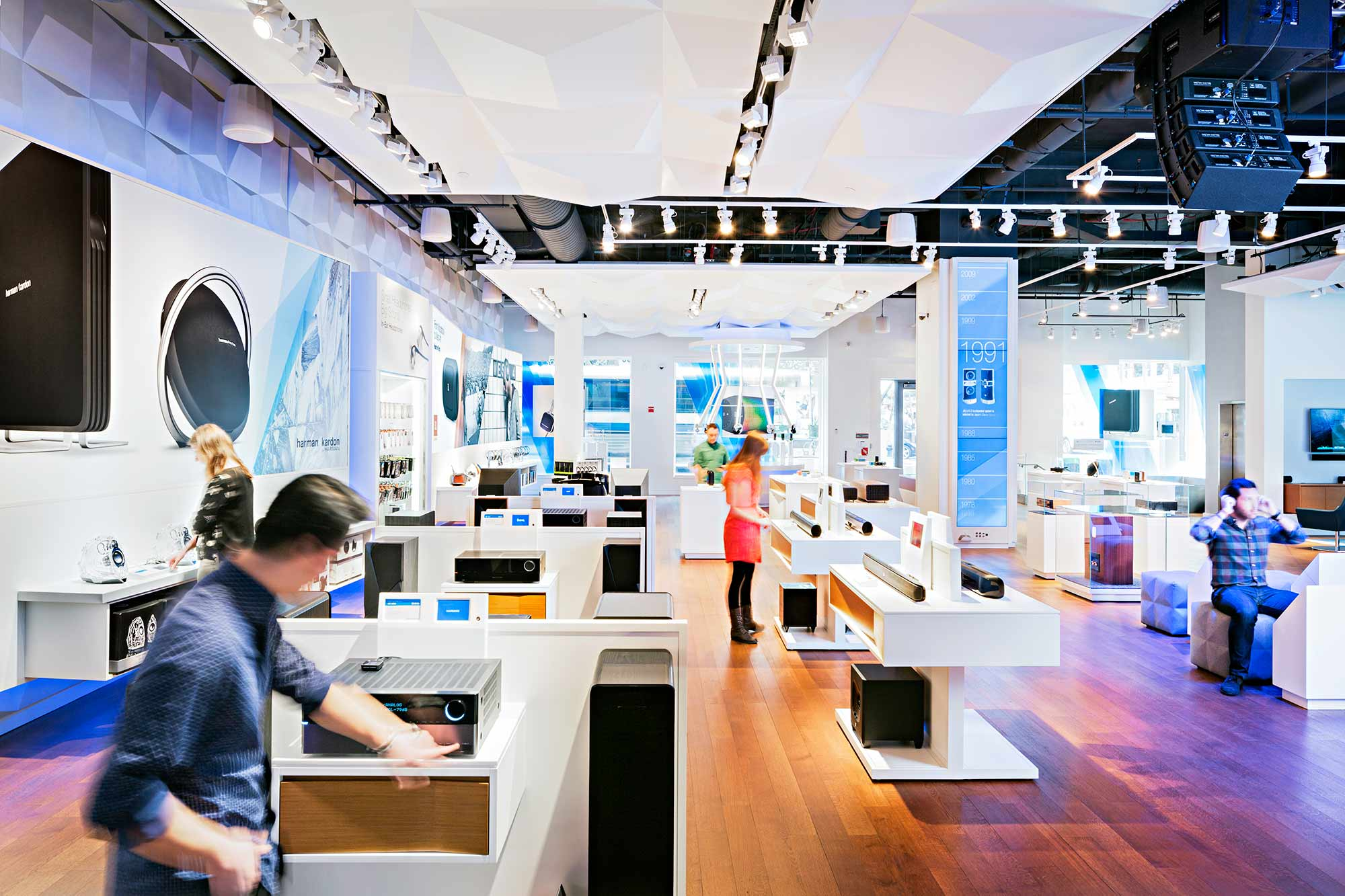 The best of store design gensler The best layout