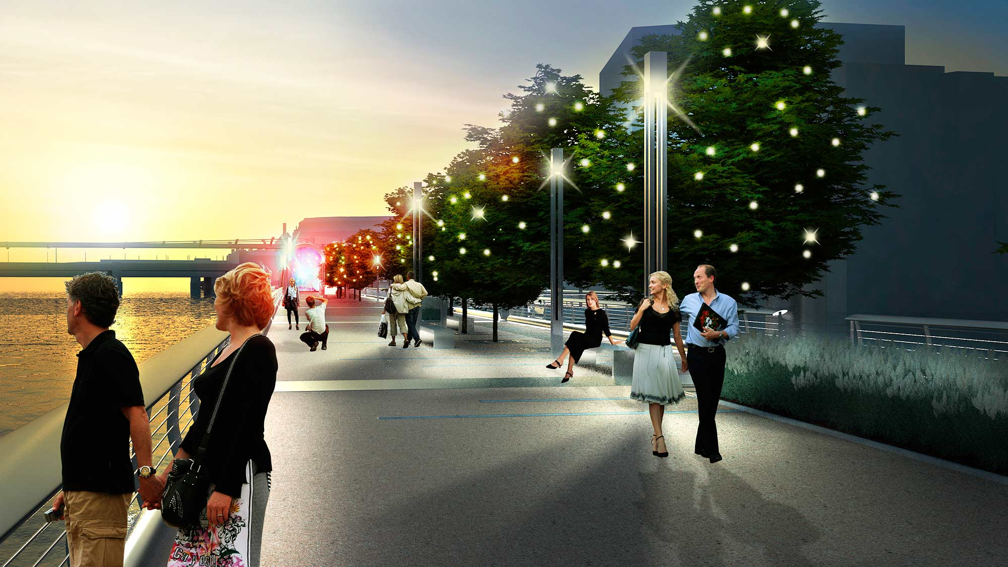 Upon Approval The Park Will Be Built By A World Class Team Featuring Mace Builders Of London Eye Shard And Londons Olympic