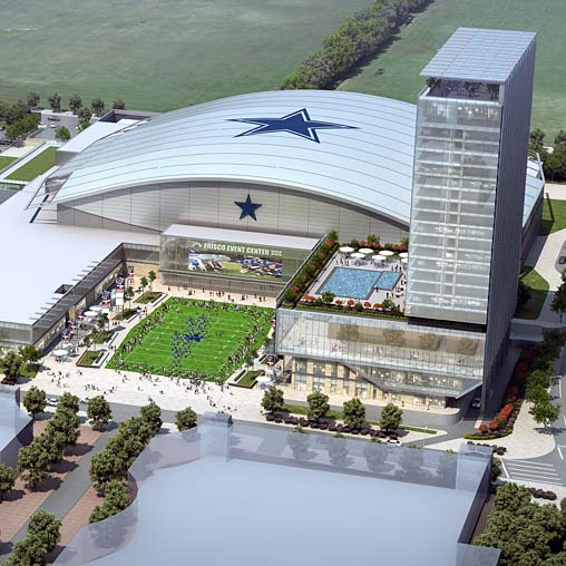 Star Time The Game Changing Gensler Designed Dallas Cowboys HQ