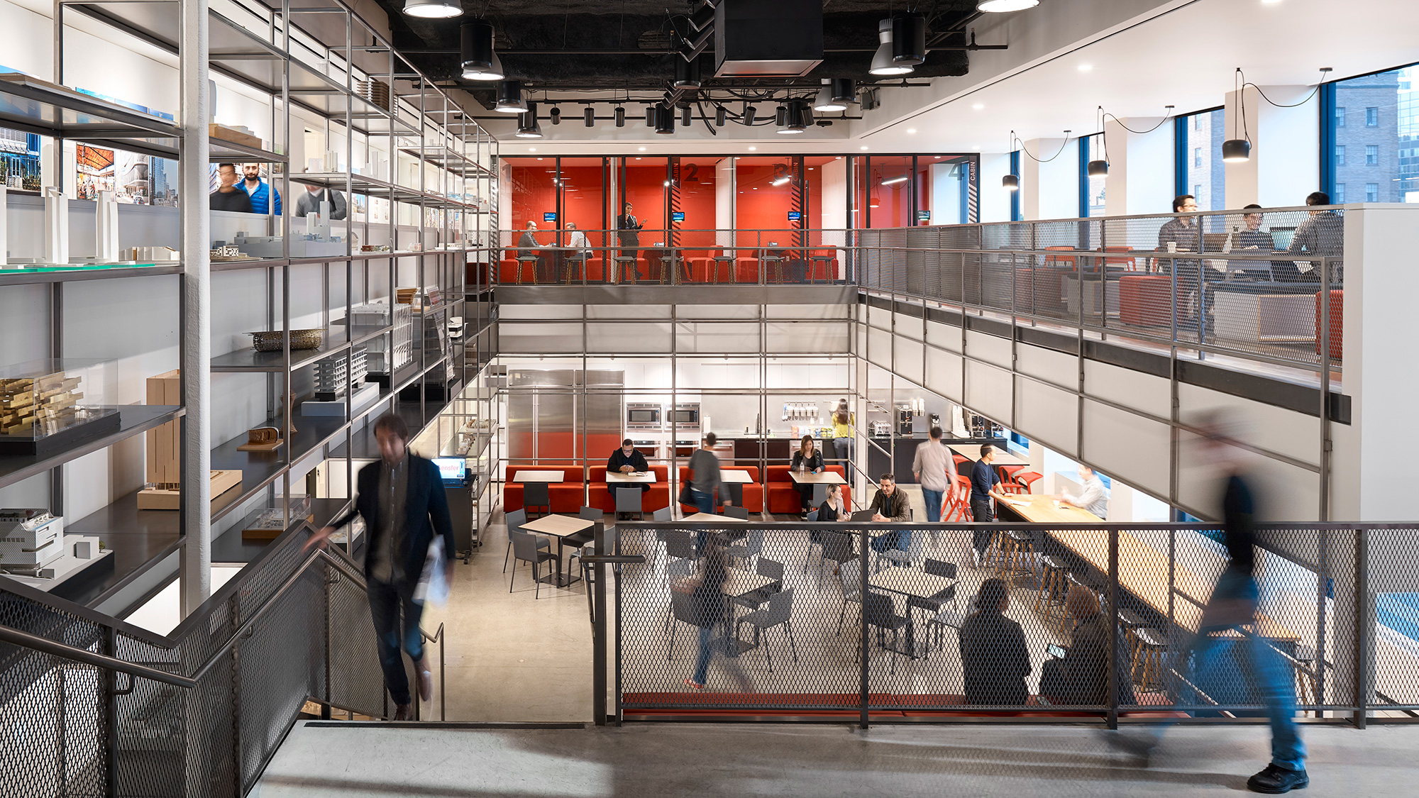 Gensler's Los Angeles office has a mix of spaces for focus and collaboration