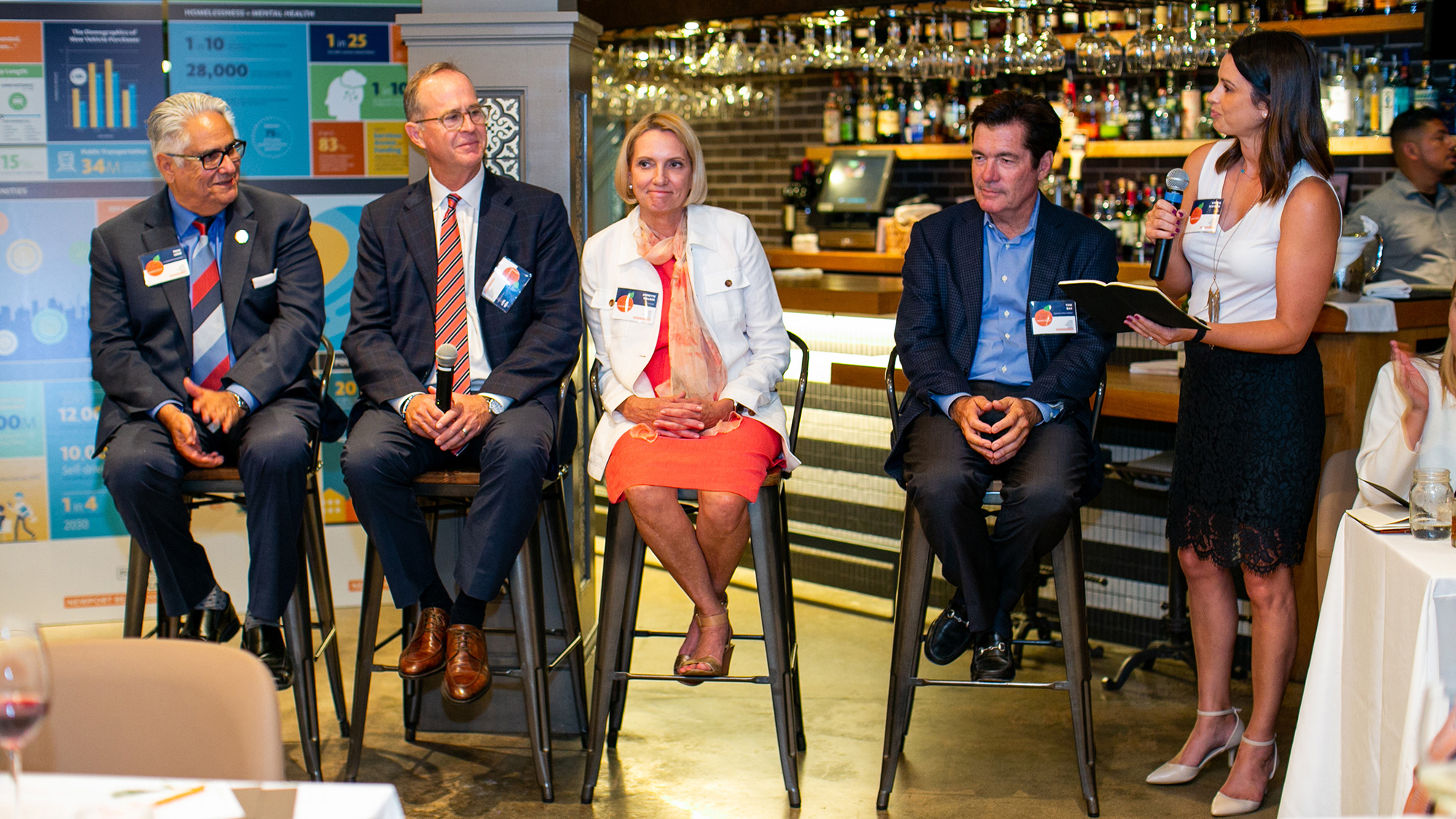 Panelists for Gensler Newport Beach's Design Forecast Local event