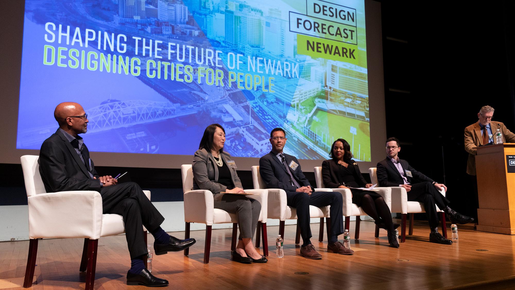Panelists for Gensler Morristown's Design Forecast Local event