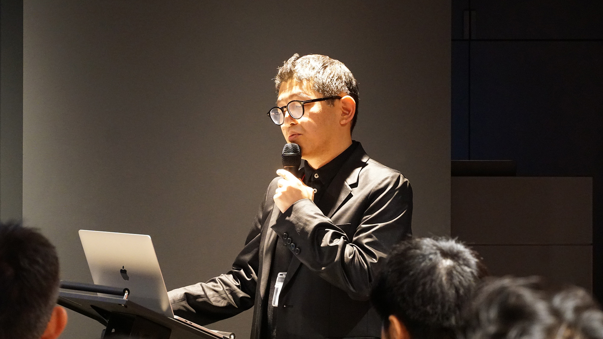 Daichi Amano speaks at Gensler Tokyo's Design Forecast event