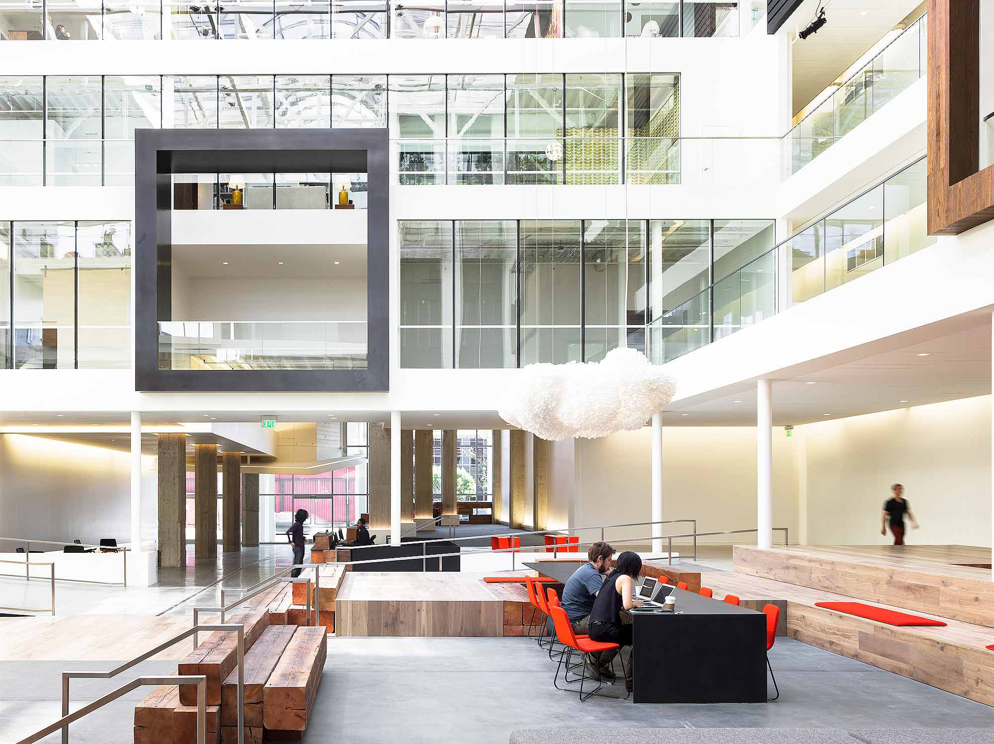The future of workplace gensler for Modern tech office design